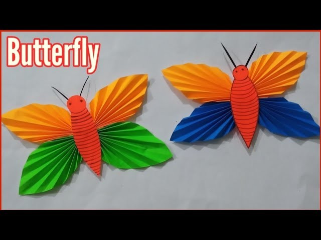 How to make a paper Butterfly,paper Butterfly craft ideas Handmade,paper art and crafts ideas