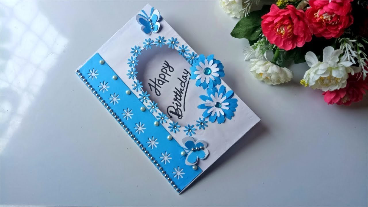 How To Make Birthday Gift Card DIY Greeting Cards For