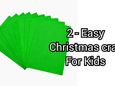 How to make Paper Wreaths | 2 easy Christmas DIY Craft for school project | Paper Christmas Wreath