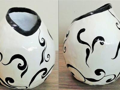 How to make vase - DIY Flower vase Craft