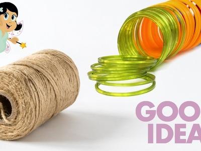 Jute Craft Idea | DIY Jute Craft | Crafts Junction