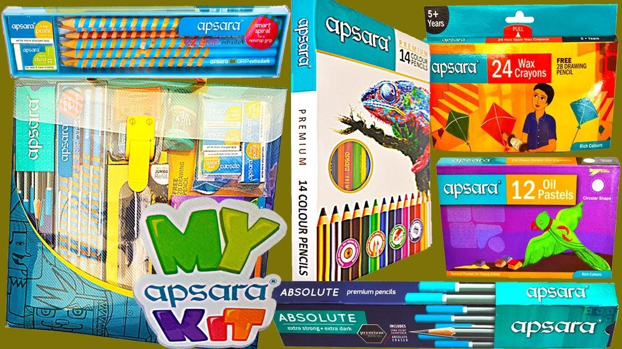 KIDS ART CRAFT SET | apsara smart school kit