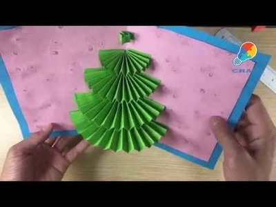 Make Christmas Card Easy and Bebeautiful - Craft Ideas