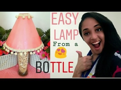 Make your own Lamp ???????????? DIY LAMP BOTTLE recycled