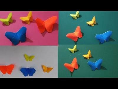 Butterfly Crafts For Kids With Paper Origami Butterfly Paper