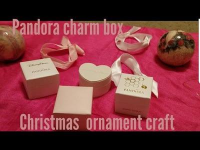 Pandora bracelet charm box craft for Christmas!