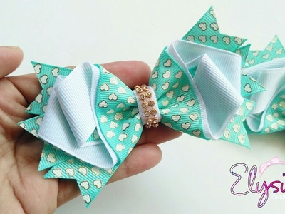 [PREVIEW] Laço Brielle Fita N5 ???? Ribbon Bow Tutorial ???? DIY by Elysia Handmade