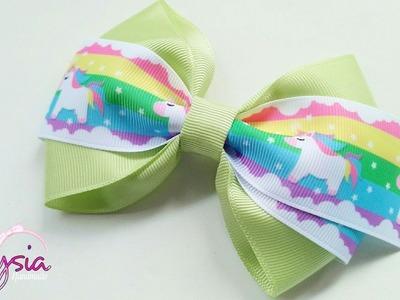 [PREVIEW] Laço Liza Fita N9 ???? Ribbon Bow ???? DIY by Elysia Handmade