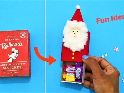 Santa craft from Matchbox- AWESOME CHRISTMAS GIFT BOX IDEA