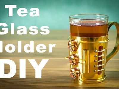 "Steampunk Tea Glass Holder ""Podstakannik"" How to Make DIY"