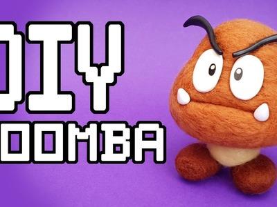 Super Mario : Goomba Needlefelt DIY Tutorial