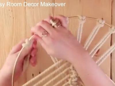 Todays Handicraft ROOM DECORATING IDEAS HOMEMADE EASY DIY home DECOR MAKEOVER - 6 Easy Crafts Ideas