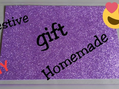 Valentine's gift craft idea homemade.DIY.glitter foam sheet craft.craft for kids.Best out waste
