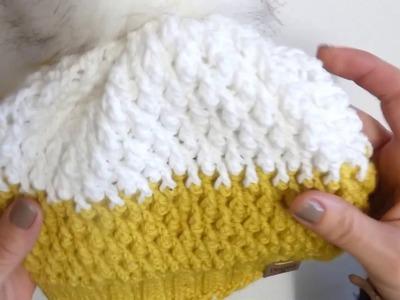 Alpine stitch - crochet tutorial