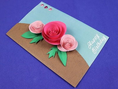 Beautiful Birthday Greeting Card Idea | DIY Birthday card