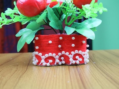 DIY Innovative Ideas of Flower Vase | How to make flower vase - Best out of waste - Room Decor Ideas