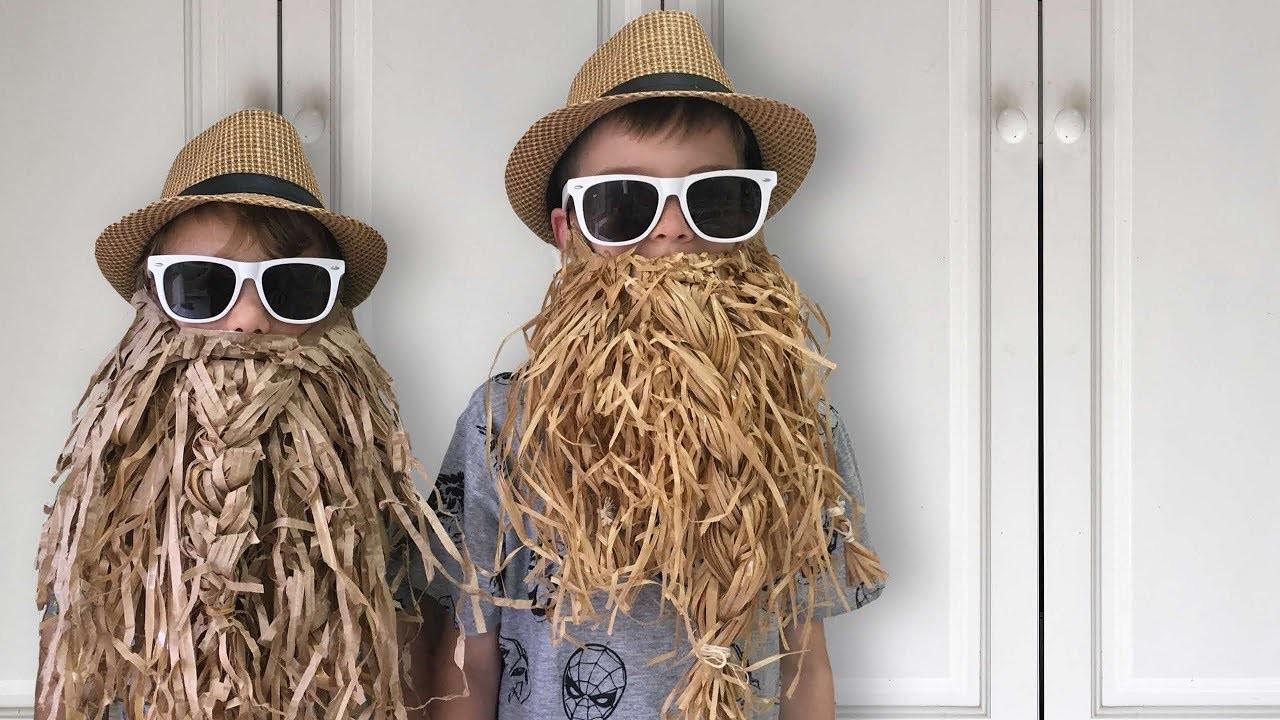 DIY Paper Beard