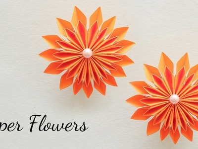 DIY Paper Flower | Easy Paper Flower | Paper Crafts