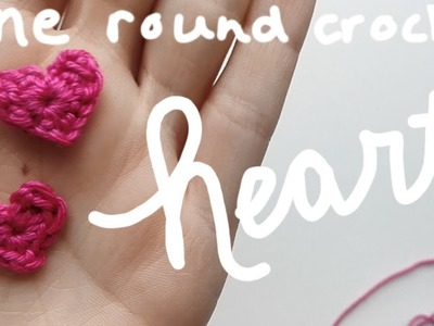 Free heart pattern, made in one row| amigurumi crochet CAL