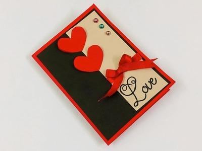 Handmade Anniversary Card Making | DIY Anniversary Card | Anniversary Card Tutorial