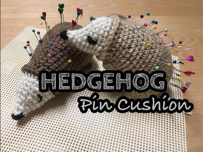 HEDGEHOG Pincushion | Crochet Pin Cushion | Hedgehog | How to Crochet hedgehog|