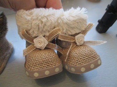 How to Alter Doll Boots Tutorial - jennings644