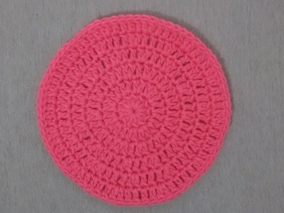 How To Crochet A Flat Circle : Tutorial