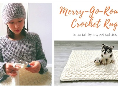How to Crochet: Merry-Go-Round Technique || Step-by-Step Rug Pattern & Tutorial