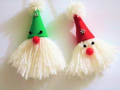How To Make wool.yarn Doll | Doll Making | DIY Doll Making | Santa Making |  Nelufa crafts