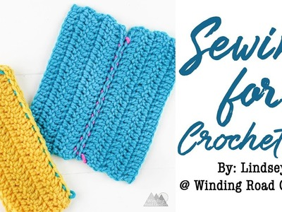 How to Sew Crochet Pieces Together