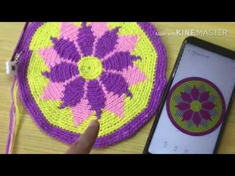 How to Start a Tapestry Crochet (Mochila Bag)