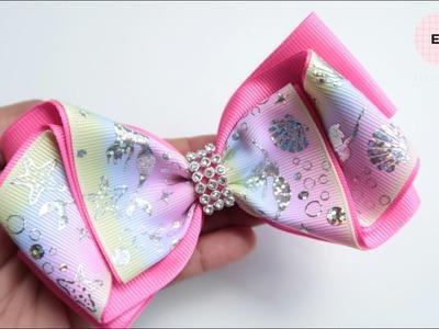 Laco de Fita ???? Ribbon Bow Tutorial #11 ???? DIY by Elysia Handmade