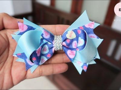 Laço De Fita ???? Ribbon Bow Tutorial #13 ???? DIY by Elysia Handmade