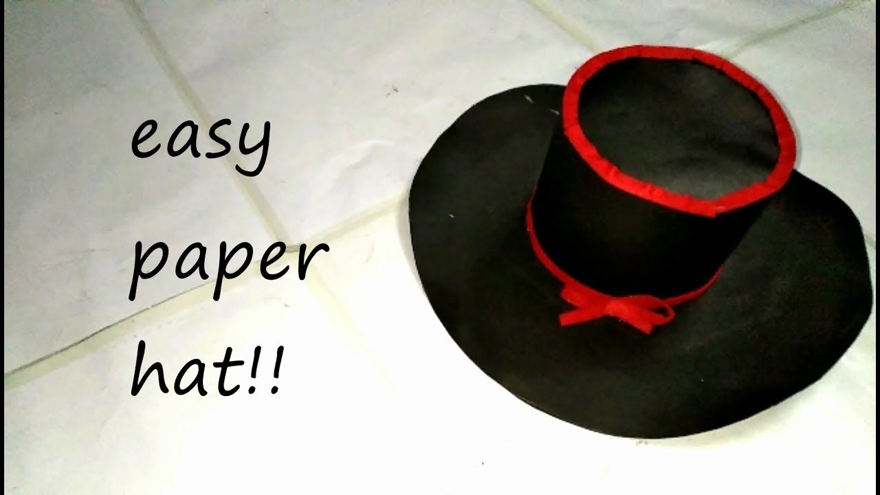 origami paper hat instructions - Bing Images | Origami top hat ... | 720x1280
