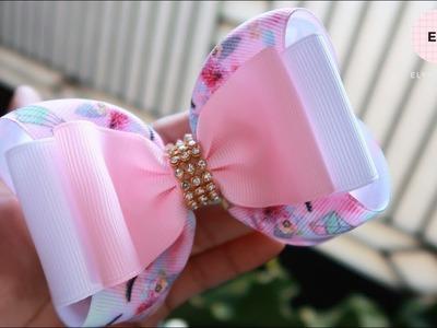 Simple 2 Layers - Laço de Fita ???? Ribbon Bow Tutorial #10 ???? DIY by Elysia Handmade