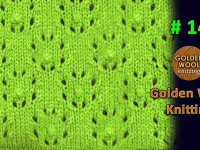 Beautiful Ladies Sweater Kotti Knitting Design