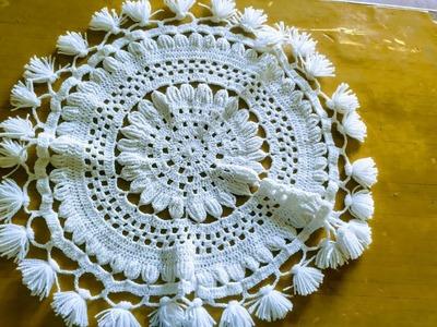 DIY.How to make new design thalpose.rumal woolen