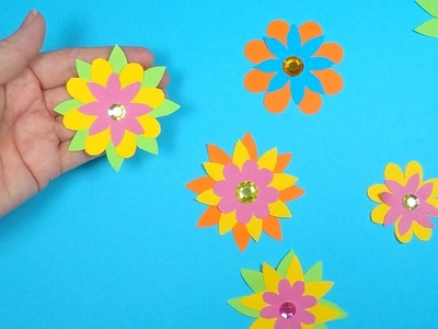How to Make a Paper Flower | Paper Crafts for Kids