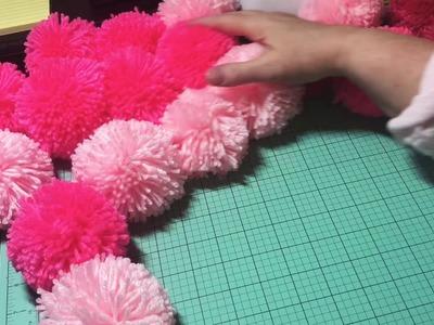 How to make a Pom Pom using the Clover Pom Pom Maker!