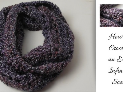 How To Make An Easy Infinity Scarf Tutorial l ALoopandAHook