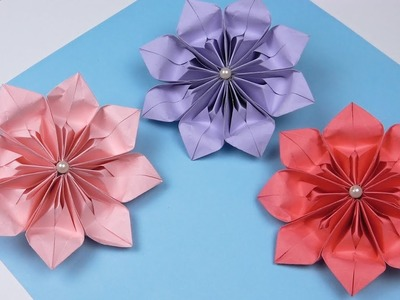 How to make paper flowers | DIY paper flowers