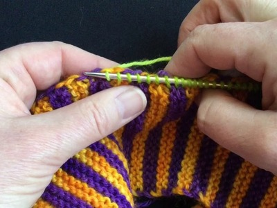 Knitting-up New Stitches