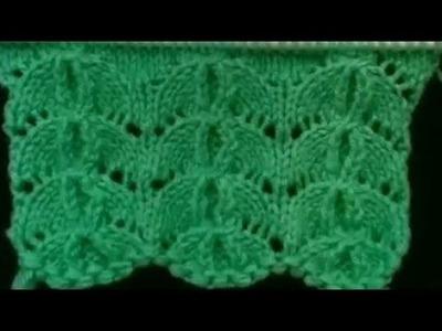 New beautiful knitting design.pattern #105  in hindi 