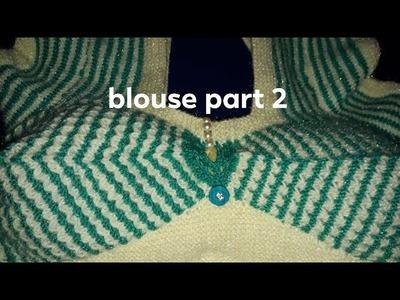 New design ladies blouse|blouse design|new knitting design|knitting|new knitting in hindi