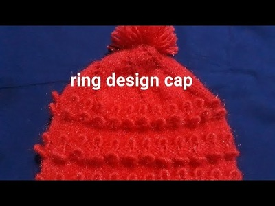 New knitting cap design|one years baby cap design|ring design cap|jali cap design|cap design