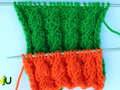 Simple cable knitting Pattern | cable Sweater pattern