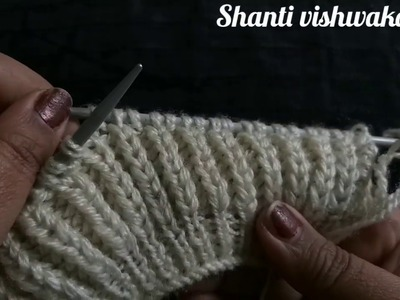 Simple gents Knitting Design #82| Knitting Pattern | sweater design in Hindi