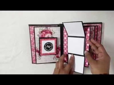 DIY - Love Scrapbook | Handmade Scrapbook Ideas | Valentine's Day Gift Idea | 2019
