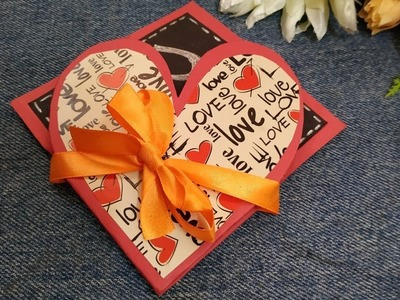 Handmade Card for loved ones | Valentines Day Card Ideas | How to make love Card