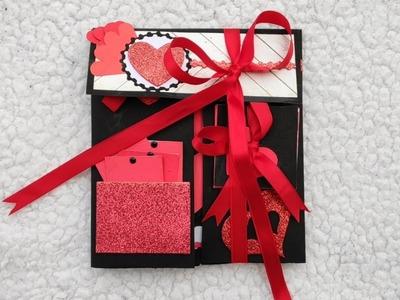Handmade Explosion Scrapbook | Birthday Gift Ideas | Anniversary Gift | Valentine's Gift